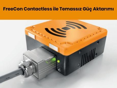 FreeCon Contactless ile Temassız Güç Aktarımı | Weidmüller