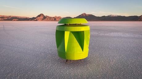 Taşınabilir Rüzgar Türbini: Powerpod