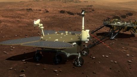 Mars Gezgini Zhurong İniş Yaptı