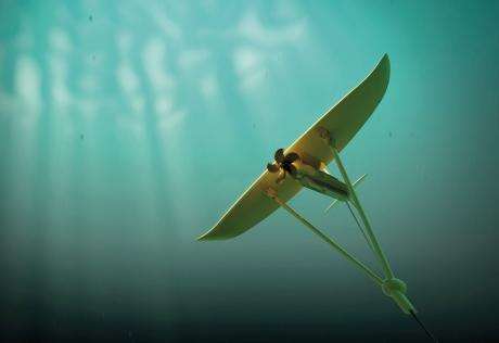 Dalga Enerjisi için Su Altı Uçurtmaları Geliştirildi
