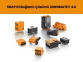SNAP IN Bağlantı Çözümü OMNIMATE® 4.0  | Weidmüller