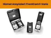 Hizmet Arayüzleri: FrontCom® Vario | Weidmüller