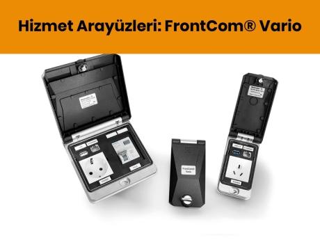 Hizmet Arayüzleri: FrontCom® Vario   Weidmüller