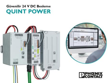 QUINT POWER | Güvenilir 24 V DC Besleme