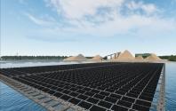 555 MW Gücünde Yüzen Güneş Enerjisi Santrali