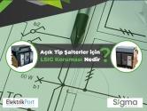 Açık Tip Şalterler için LSIG Koruması Nedir?