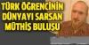 Türk Öğrenci DÜnyayı Sarstı