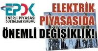 Elektrik Piyasası Dengeleme ve Uzlaştırma Yönetmeliği'nde Değişiklik