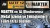 MAKTEK TATEF '12