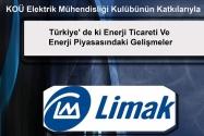 Türkiye' de ki Enerji Ticareti ve Enerji Piyasasındaki Gelişmeler