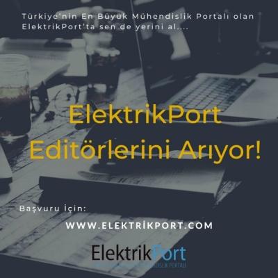 ElektrikPort Yeni Editörlerini Arıyor