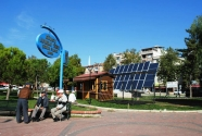Bursa'da Aydınlatma Güneş Enerjisinden Sağlanıyor