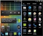 Android işletim sistemine sahip bir telefon