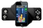 Kontrolcü,iPhone 5'in hem yatay hem de dikey olarak kullanmasına olanak sağlıyor.