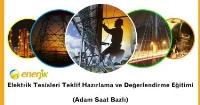 Elektrik Tesisleri Teklif Hazırlama ve Değerlendirme Eğitimi Başarı ile Tamamlandı