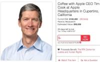 Apple'ın CEO'su Tim Cook İle Kahve İçmenin Bedeli Sizce Ne Kadar Olabilir?