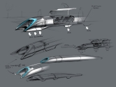 Hyperloop Sahnede, Elon Musk Yeni Ulaşım Aracını Tanıttı