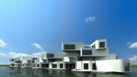 Dünya'nın İlk Yüzen Apartmanı 2014'de İnşa Edilecek