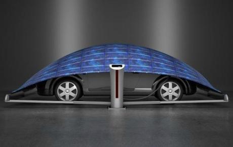 Elektrikli Araç Üretiminde Sıradışı Teknoloji | V-tent Şarj!
