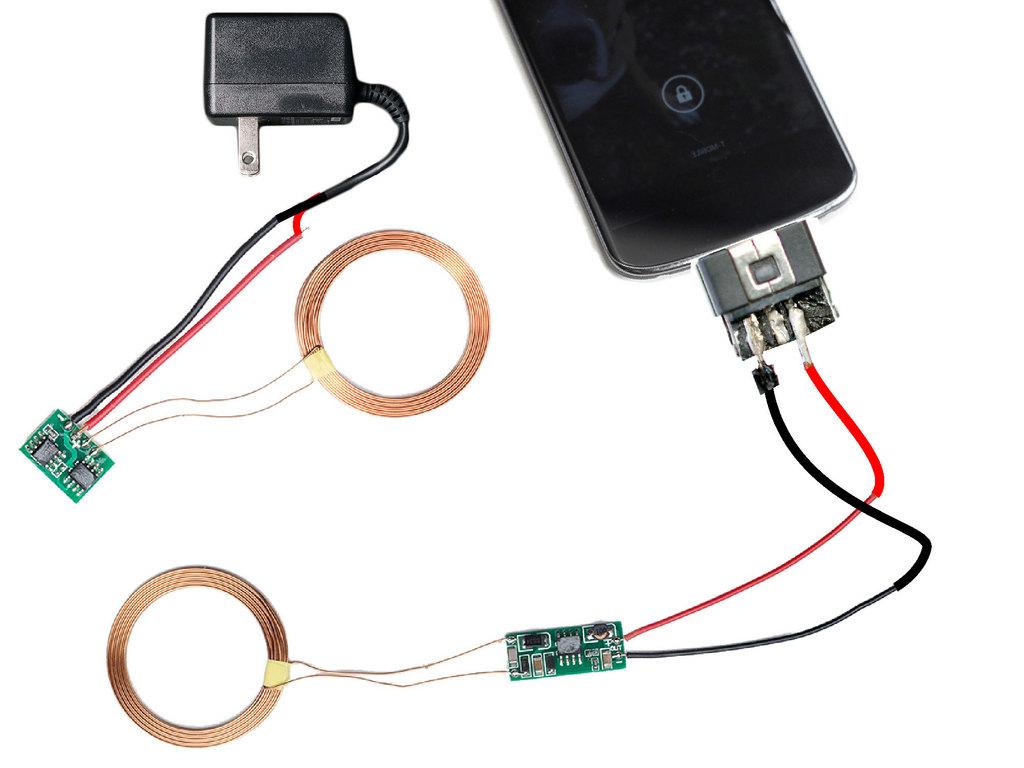 Şekil 1: Bobin tellerinin adaptör ve konnektör ile bağlantısı
