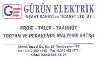 Gürün Elektrik İnşaat Sanayi ve Tic. Ltd. Şti.