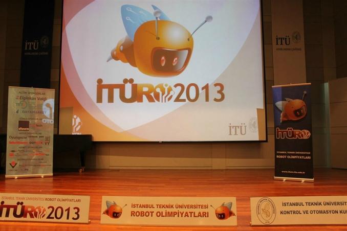11-12-13 Nisan 2013 tarihlerinde İTÜ Ayazağa Kampüsü Süleyman Demirel Kültür Merkezi' nde düzenlenen ITURO'ya ilgi büyüktü.