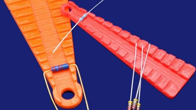 Peki ya dirençlere ne dersiniz? 3D yazıcılar elektrik ve elektronik sektöründe de yerini almaya başlıyor.