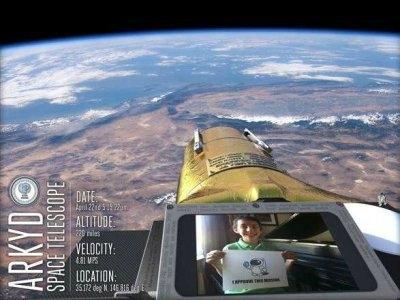 ARKYD uzay teleskobu kendisini ' halkın kullanabileceği ilk uzay teleskobu' diye adlandırıyor. Herkes teleskoba ulaşıp, uzay inceleyebilir veya kendisine ait bir fotograf alabilir. Bu proje Kickstarter da yaklaşık 1,500,000 amerikan dolarına ulaştı.