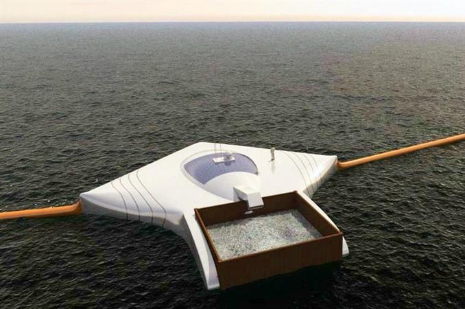 19 yaşındaki Hollandalı Uzay Mühendisliği öğrencisi Boyan Slat, okyanuslardaki 7.250.000 ton çöpü toplayıp işleyebilecek bir gemi geliştirdi. Büyük bariyerleri ve işleme merkezi ile dev huni işlevi gören gemi, aslında bir okul yarışması için tasarlanmış. The Ocean Cleanup Foundation (Okyanus Temizleme Vakfı) tarafından desteklenen projenin hayatı geçmesi halinde tüm okyanusların 5 sene içinde temizleneceği tahmin ediliyor.