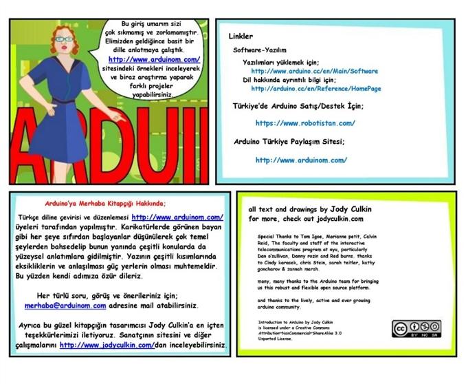 Kaynak www.arduino.cc ve www.arduinom.com özellikle Jody Culkin'a Teşekkürler...(Hazırlayan: Emre ARSLAN)