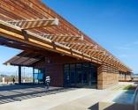City of Watsonville Water Resources Center, Watsonville, Calif. - Su kaynakları merkezi, su geri dönüşüm tesisi, bir fonksiyonel eğitim servisi ve onun görsel uzantısından oluşmaktadır.