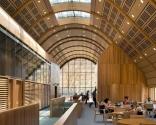 Kroon Hall, Yale University, New Haven, Conn. - Kroon Hall'da ki eski bir bina yerine, enerjisini tamamen kendisi karşılayan bir bina yapıldı.