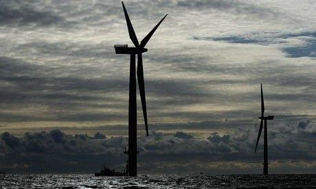 Walney Wind Farm—Cumbria, U.K.  102 adet türbinden oluşan Walney rüzgar çiftliği, Cumbria kıyıları'nda 28 mil kare boyunca uzanan, son zamanlarda dünyanın en büyük açık deniz rüzgâr tesisi oldu.