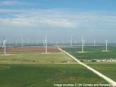 Roscoe Wind Farm—Texas, USA  Roscoe rüzgâr çiftliği 781 MW kapasiteye sahip en büyük rüzgar çiftliğidir.