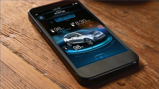"""Ortalama ağırlığı 1.2 ton olan araç hatch-back stilinde tasarlanmış. Alüminyum kasis, karbon fiber malzemeli gövde gibi özellikleri bulunan aracın en önemli özelliklerinden biri ise akıllı telefon uygulaması. """" BMW i Remote"""" isimli uygulama iOS ve Android uyumlu. Uygulama ile aracın şarj seviyesini, batarya kondisyonunu, aracın nerede bulunduğunu ve servis mesajlarını akıllı telefonunuz aracılığıyla öğrenebilirsiniz."""