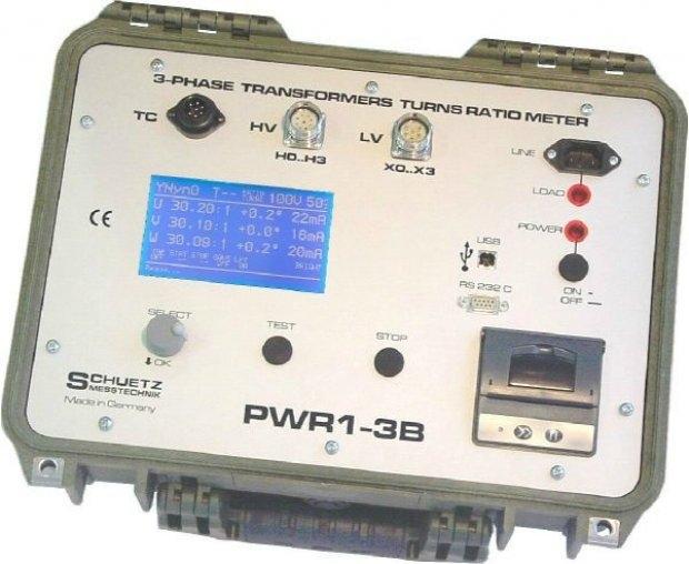 [Sanpa Elektronik] SCHUETZ MESSTECHNIK 3-FAZ Güç ve Dağıtım Trafoları İçin Trafo Dönüşüm Oranı Cihazı ile transformatör testlerini yapabilirsiniz.