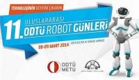 ODTÜ Robot Topluluğu tarafından düzenlenen 11. Uluslararası ODTÜ Robot Günleri 8 - 9 Mart 2014 tarihlerinde her zaman olduğu gibi ODTÜ Kültür ve Kongre Merkezi 'nde gerçekleştirildi.