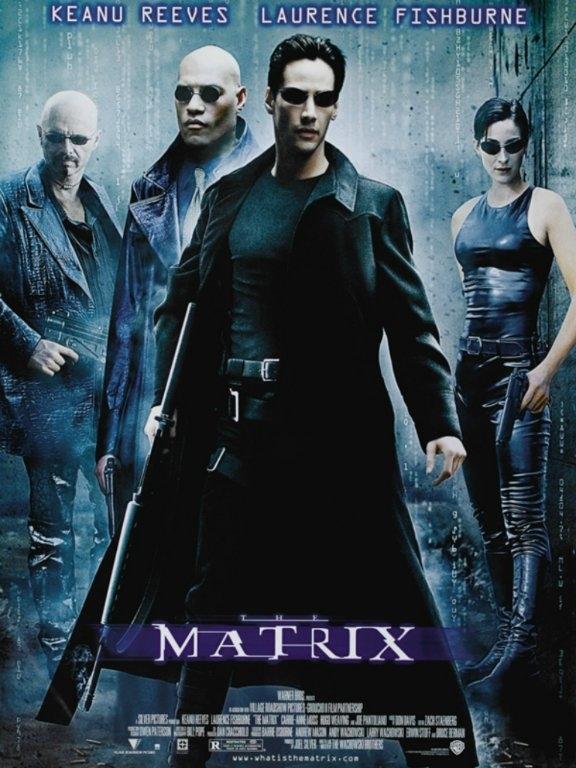 The Matrix:  Bir yaşanan gerçek vardır, bir de yaşananın ötesinde olan gerçeklik... Biri rüya, diğeri ise Matrix! Neo,son derece tehlikeli bir adam olan Morpheus'un gerçeği bildiğine inanmaktadır. Bir gece Neo, kendisini başka bir dünyaya götürebilecek güzel yabancı Trinity ile tanışır. Bu kızın götüreceği dünyada, Neo Morpheus'u bulacak ve Matrix hakkında bir şeyler öğrenecektir. Neo, Tam olarak kavrayamadığı şeylerin yaşamını kontrol ettiğini biliyor.. Nedir bu Matrix? //BeyazPerde