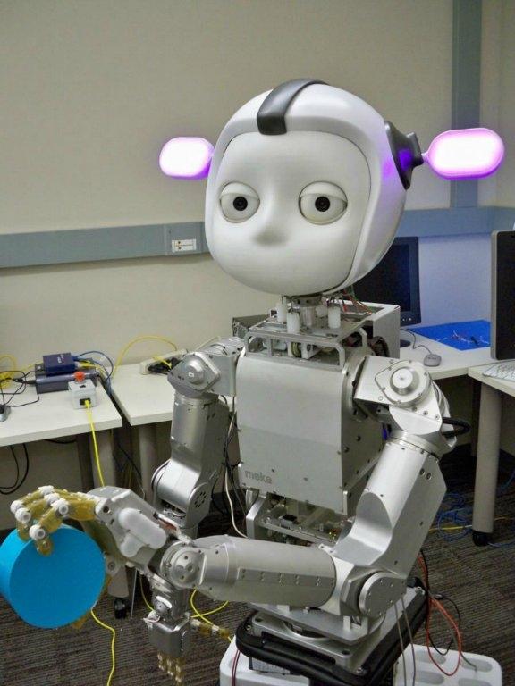 Meka Robotics; Şirketin önemli özelliği motor ile eklemler arasında yaptığı çalışmalarla daha iyi kontrol edilebilir robotlar yapması..