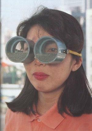 Ağlama Gözlükleri: Çok duygusalım, sürekli ağlıyorum bu yüzden insanlar zayıflığımı anlıyorlar diyorsanız bu icat tamda size göre. Gözyaşlarınız, gözlüğün içerisinde bulunan toprağa karışıyor. Sabırsızlıkla  gözlük camlarının numaralı olanları da çıkmasını bekliyoruz.