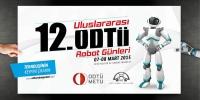 12.ODTÜ Uluslararası Robot Günleri  (Ankara) : Artık gelenekselleşen ve katılımın yüksek olduğu ODTÜ Robot Günleri , bu senede yarışma ve yarışmacılar için hazırlıklarına aralıksız devam ediyor.Etkinlik 7-8 Mart 2015 tarihinde gerçekleşecek.  Ayrıntılı bilgi için:http://odturobotgunleri.org.tr/tr