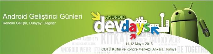 Android Geliştirici Günleri etkinliği, hızla yükselişine devam ediyor.Mobil, web, sunucu ve yazılım teknolojilerindeki gelişmeleri uygulayarak,paylaşarak,eğlenerek öğrenebileceğiniz,ücretsiz ve her katılımcıya açık olan bu  konferans ,sizleri heyecanla bekliyor.Kayıt için :http://www.androiddeveloperdays.com/2014/