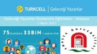 TURKCELL |Geleceği Yazanlar eğitimlerine hız kesmeden devam ediyor.67.sini düzenleyeceği eğitimine, Amasya Üniversitesi ev sahipliği yapacak.Ayrıntılı bilgi için:https://gelecegiyazanlar.turkcell.com.tr