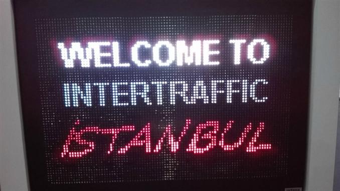 Bu yıl 8.si düzenelenen Intertraffic 2015; altyapı, trafik yönetimi, yol güvenliği ve park sistemleri alanında faaliyer gösteren 200 katılımcı firmayla 27-29 Mayıs 2015 tarihleri arasında İstanbul Fuar Merkezi'nde gerçekleşti.