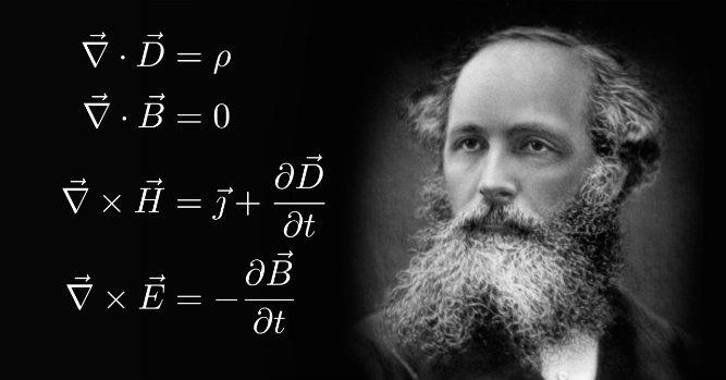 Maxwell Denklemleri: James Clerk Maxwell denklemleri, ilk olarak 1861 - 1862 yılları arasında yayınlanmış olup elektrik ve manyetik alanın nasıl üretildiğini, birbirlerine nasıl dönüştüklerini ve bu alanların davranışlarını denklemlerinde açıklamaktadır.