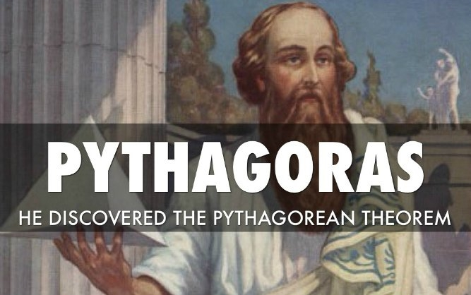 Pisagor Teoremi: Bu antik teoremin ilk kaydedilme yeri M.Ö. 570-495'dir. Öklid geometrisinin temel bir prensibidir. Pisagor teoremi iki nokta arasındaki mesafe tanımı için temelde düz bir çizgide bir dik üçgenin kenarları arasındaki ilişkiyi açıklamaktadır.