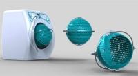 Orbital çamaşır makinesi: Çamaşır makinesindeki sıradan silindirik yerine küresel bir sepeti bulunan orbital çamaşır makinesiyle çamaşırlar makinenin dışında dahi kolaylıkla toplanabiliyor.