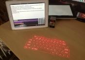 Lazer klavye: US bağlantılı bir cihaz, sizin belirlediğiniz bir yere lazer olarak QWERTY klavyeyi yansıtıyor ve çok keyifli bir kullanım sunuyor. Bu klavyenin fiyatı ise 70$.