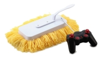 Uzaktan kumandalı paspas: Kim yattığı yerden evi temizlemek istemez ki. Artık temizliğin de uzaktan kumandalısı hayatımıza giriyor. 46$ değerindeki bu uzaktan kumandalı paspası joystick ile isteğinize göre yönlendirerek evinizi temizleyebilirsiniz.