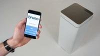 Akıllı çöp kutusu: Android ve IOS için uyumlu bir uygulamaya sahip olan akıllı çöp kutusu, uygulama üzerinden çöpü vakumlayabiliyor. Kapak üzerindeki sensörlerle el değmeden açılıyor ve etrafındaki tozları alabiliyor.
